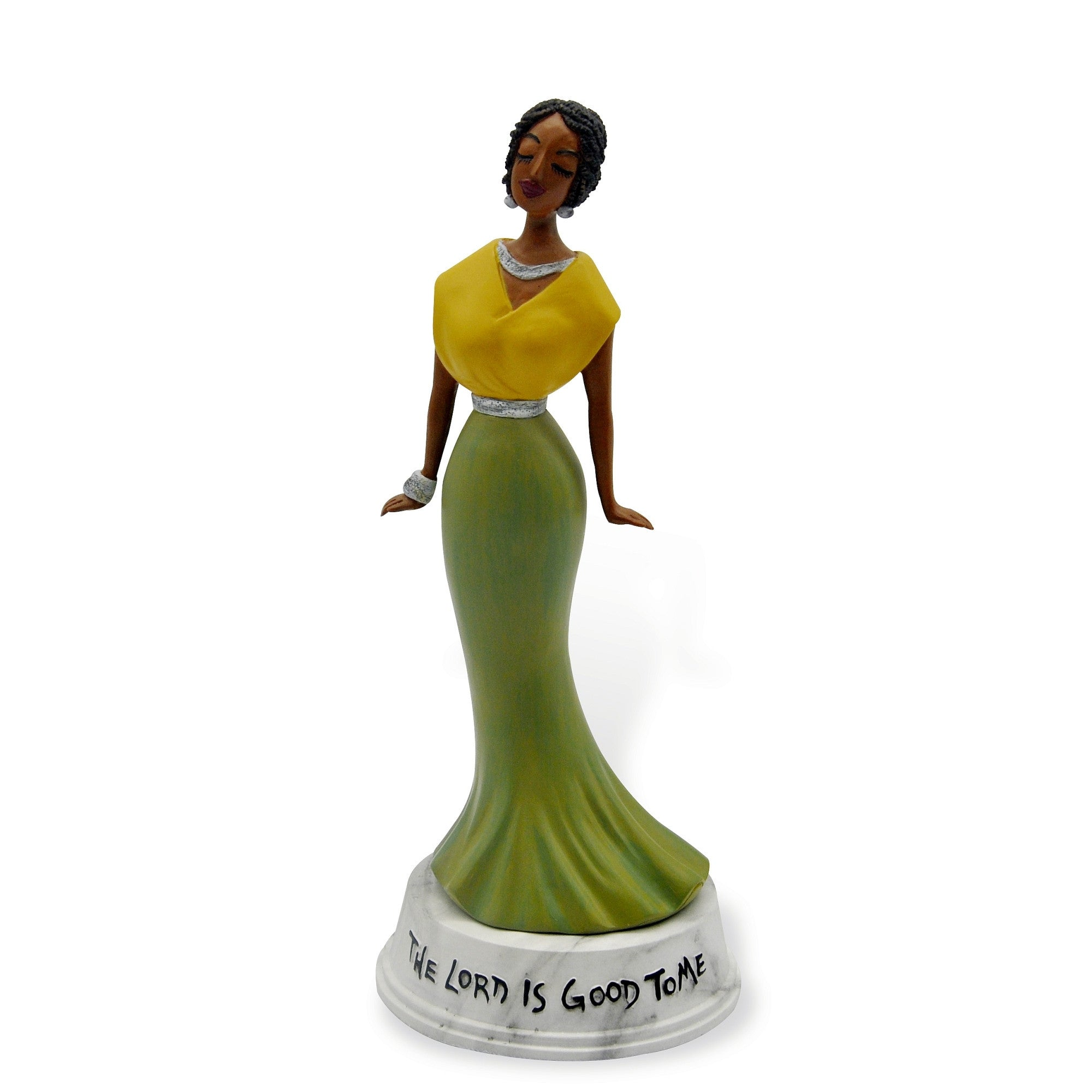 The Lord is Good to Me: Cidne Wallace Figurine by Shades of Color
