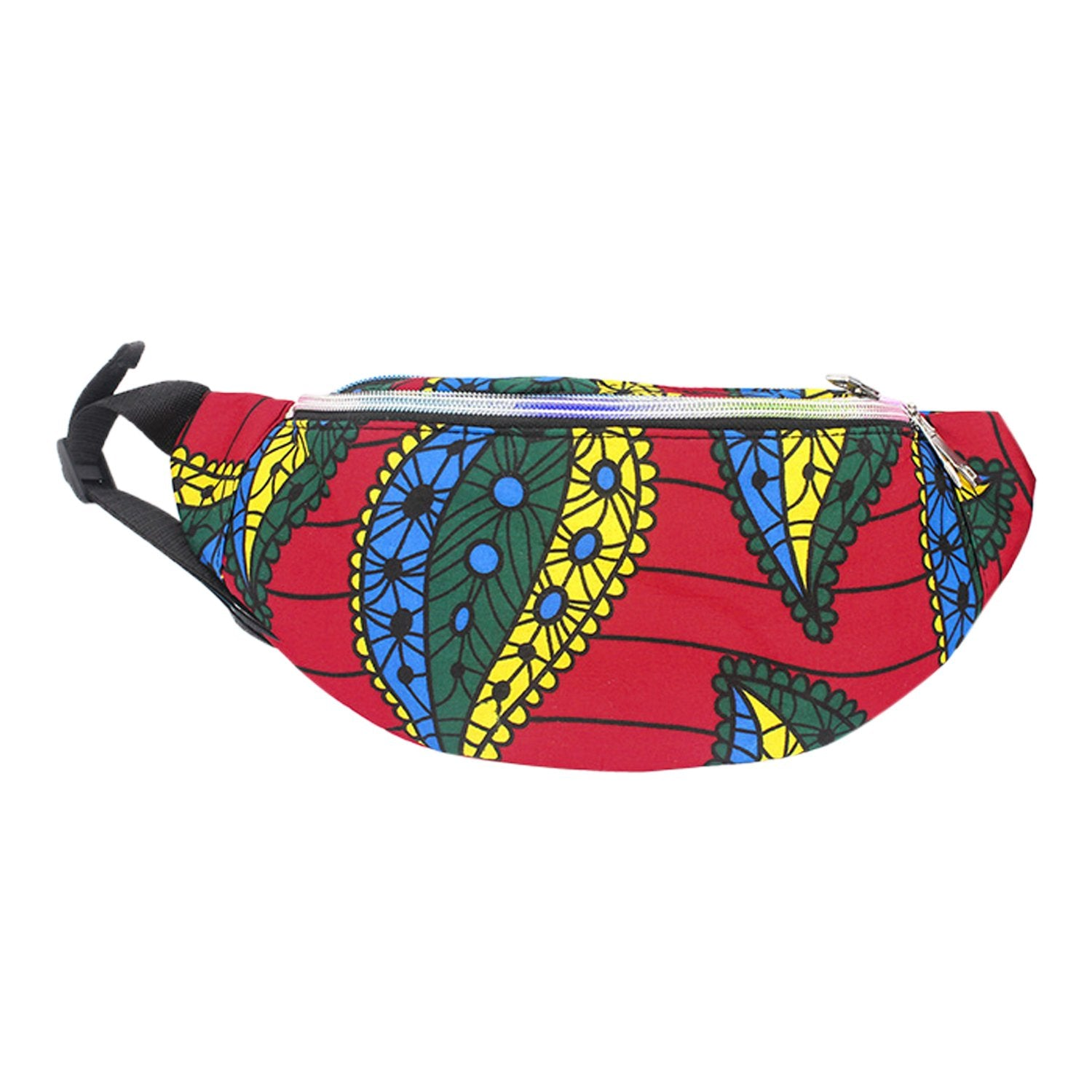 Bria: African Print Fanny Pack by Boutique Africa