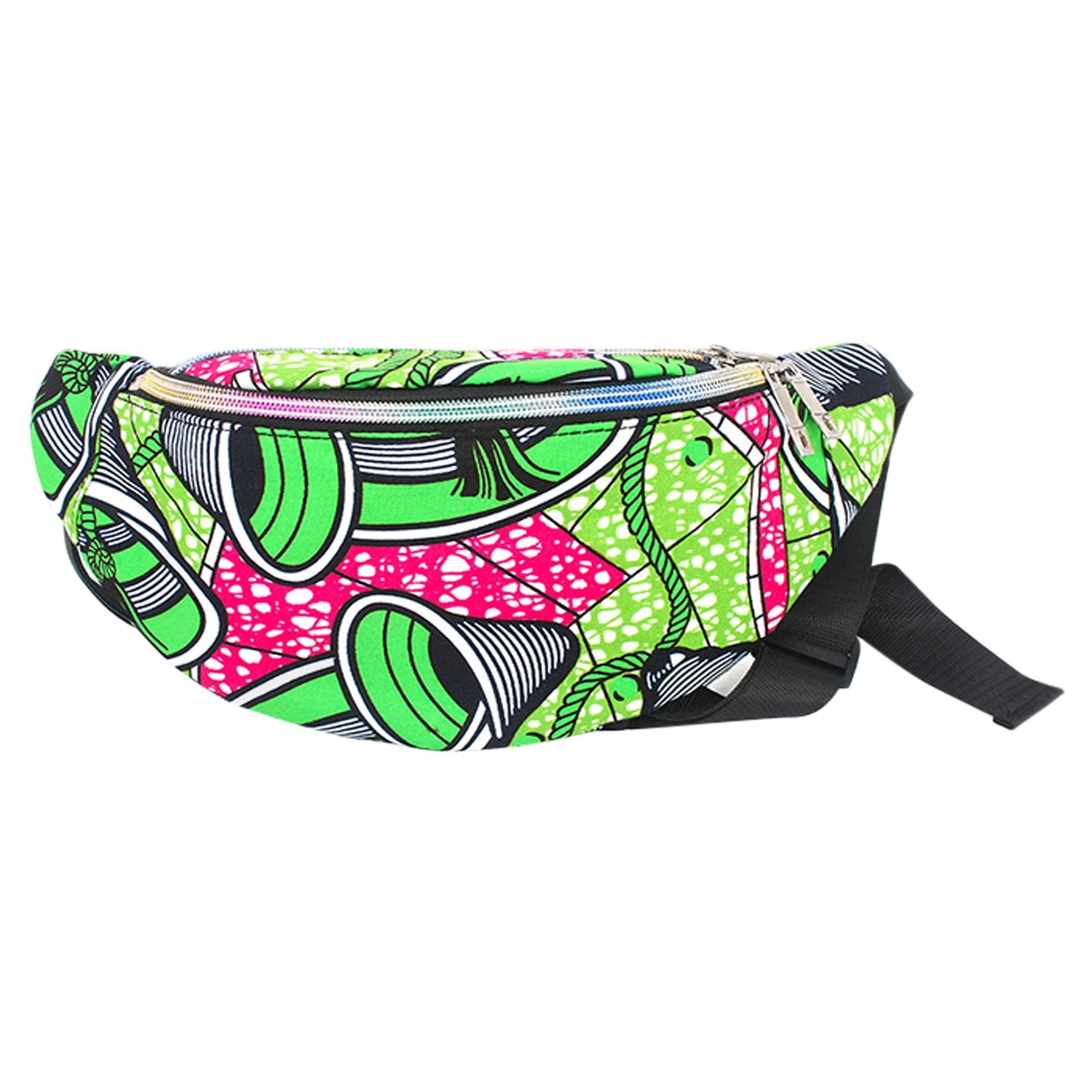 Fimi: African Print Fanny Packs