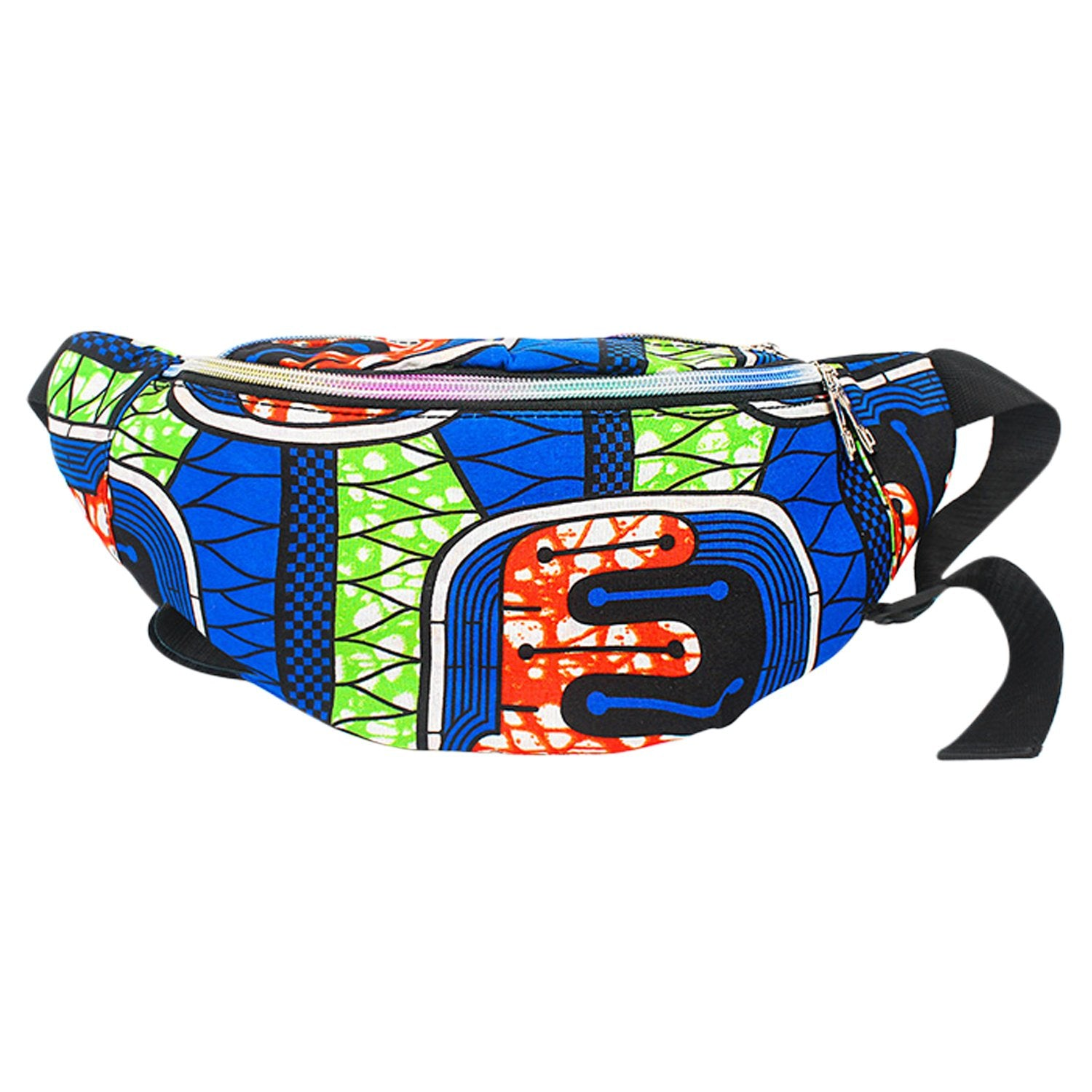 Garissa: African Print Fanny Pack by Boutique Africa