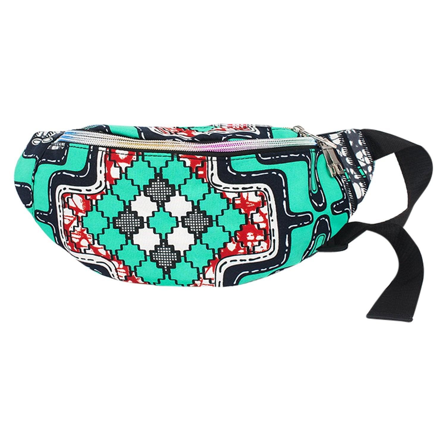 Esinam: African Print Fanny Pack by Boutique Africa