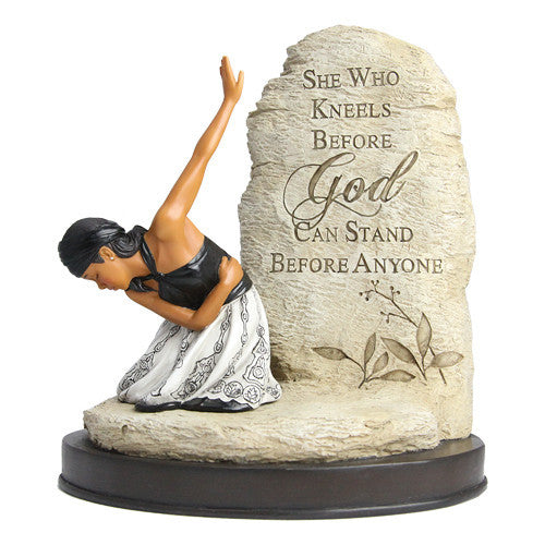 She Who Kneels Figurine by African American Expressions
