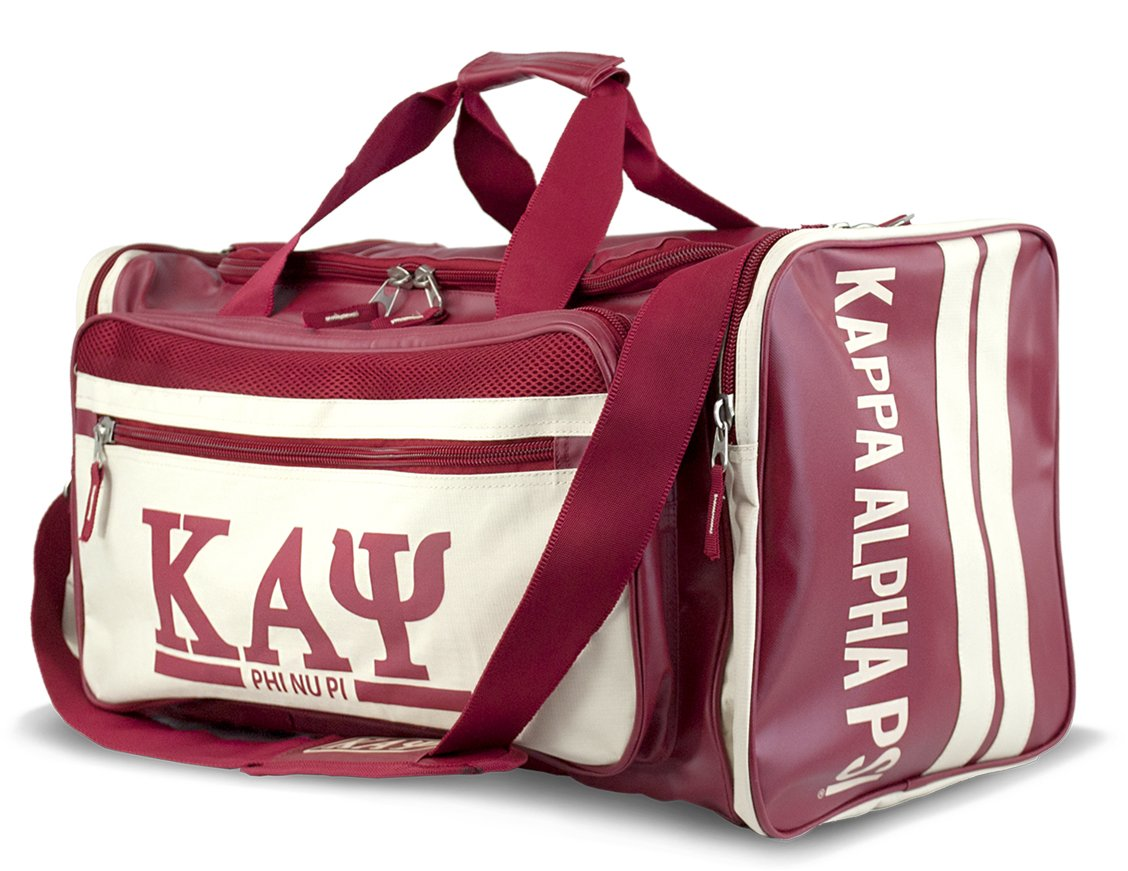 Kappa Alpha Psi Duffle Bag by Big Boy Headgear