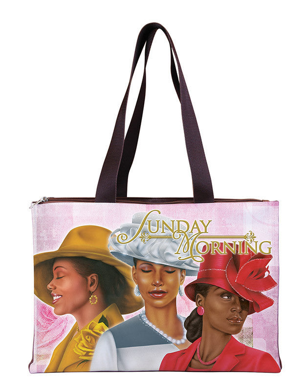 Sunday Morning: African American Hand Bag