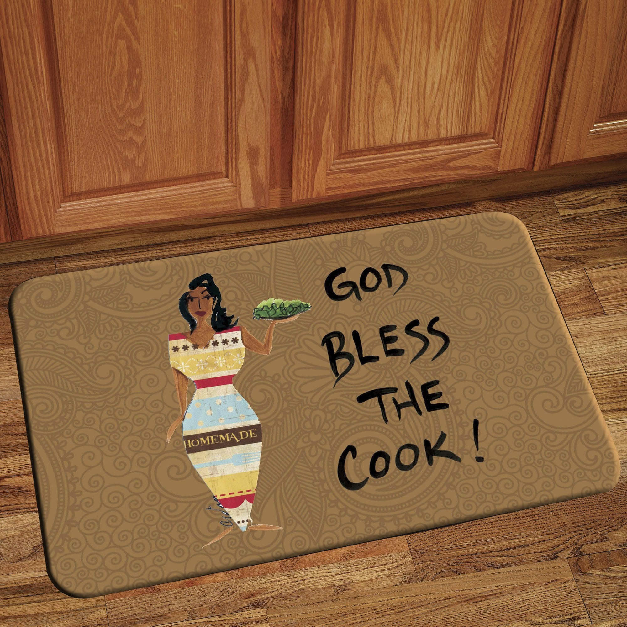 God Bless The Cook: Cidne Wallace Interior Floor Mat