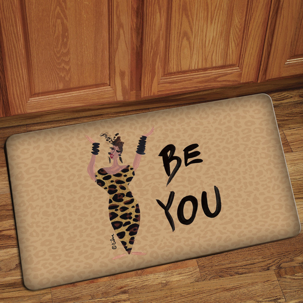 Be You: Cidne Wallace Interior Floor Mat By Shades Of