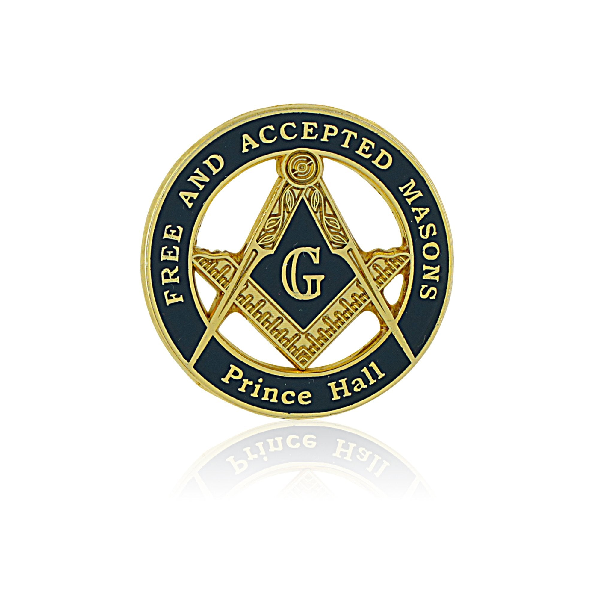 Prince Hall Free and Acceptd Mason Lapel Pin by The Masonic Depot