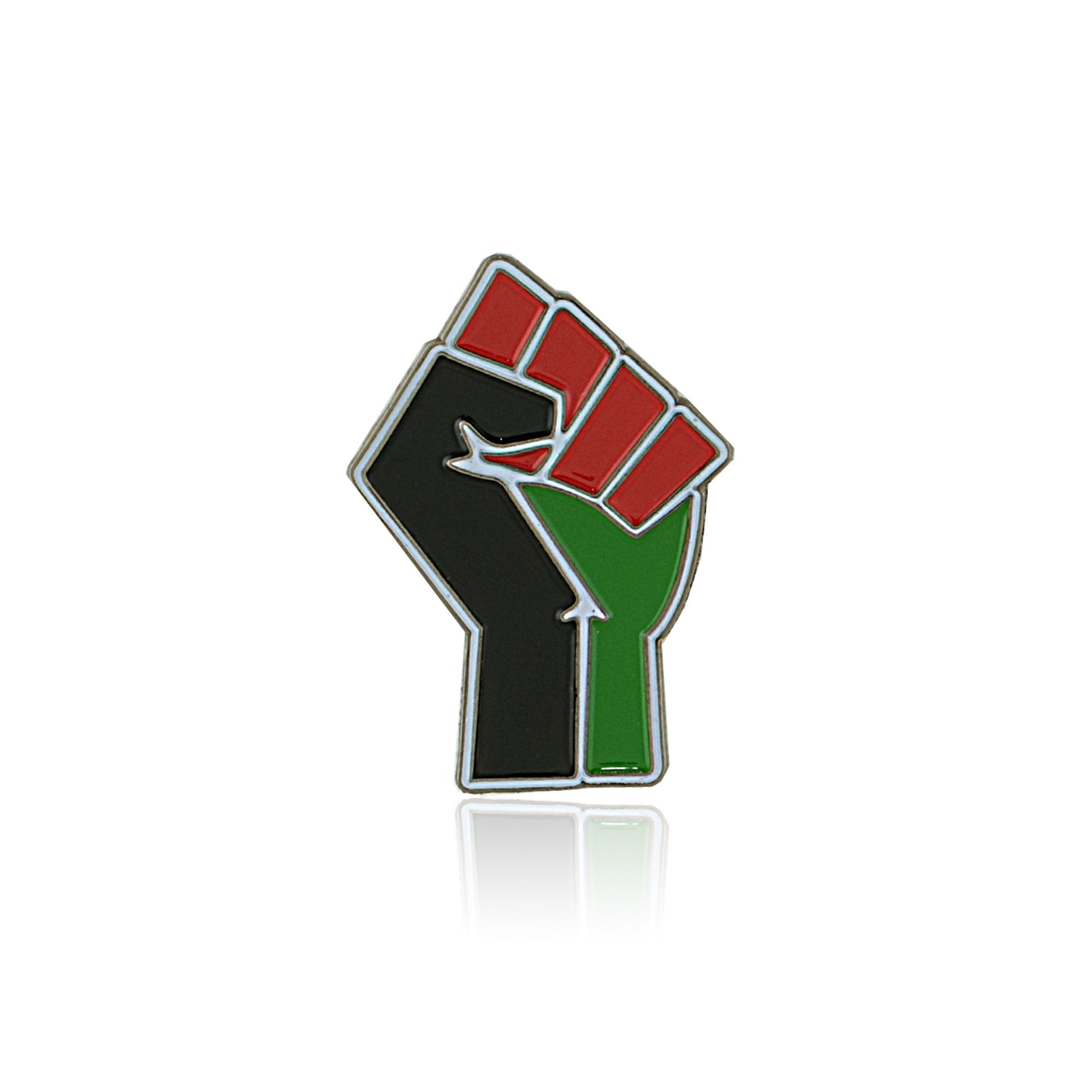 Resist: African American Liberation (Black Power Fist) Lapel Pin by RBG Forever