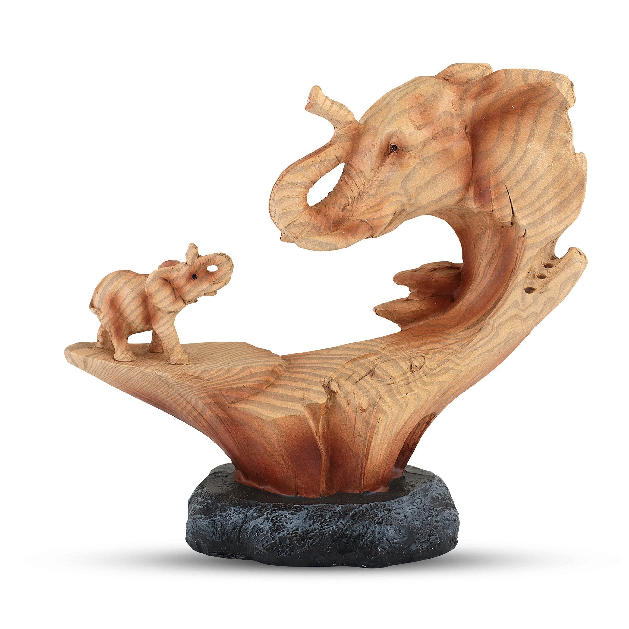 A Mother's Guidance: Elephant Figurine by Unison Gifts
