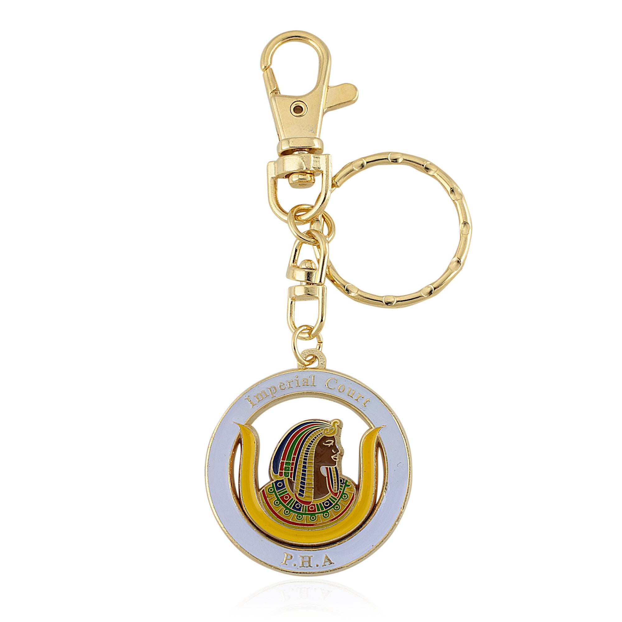 Daughters of Isis/Imperial Court (PHA) Key Chain with Purse Clip
