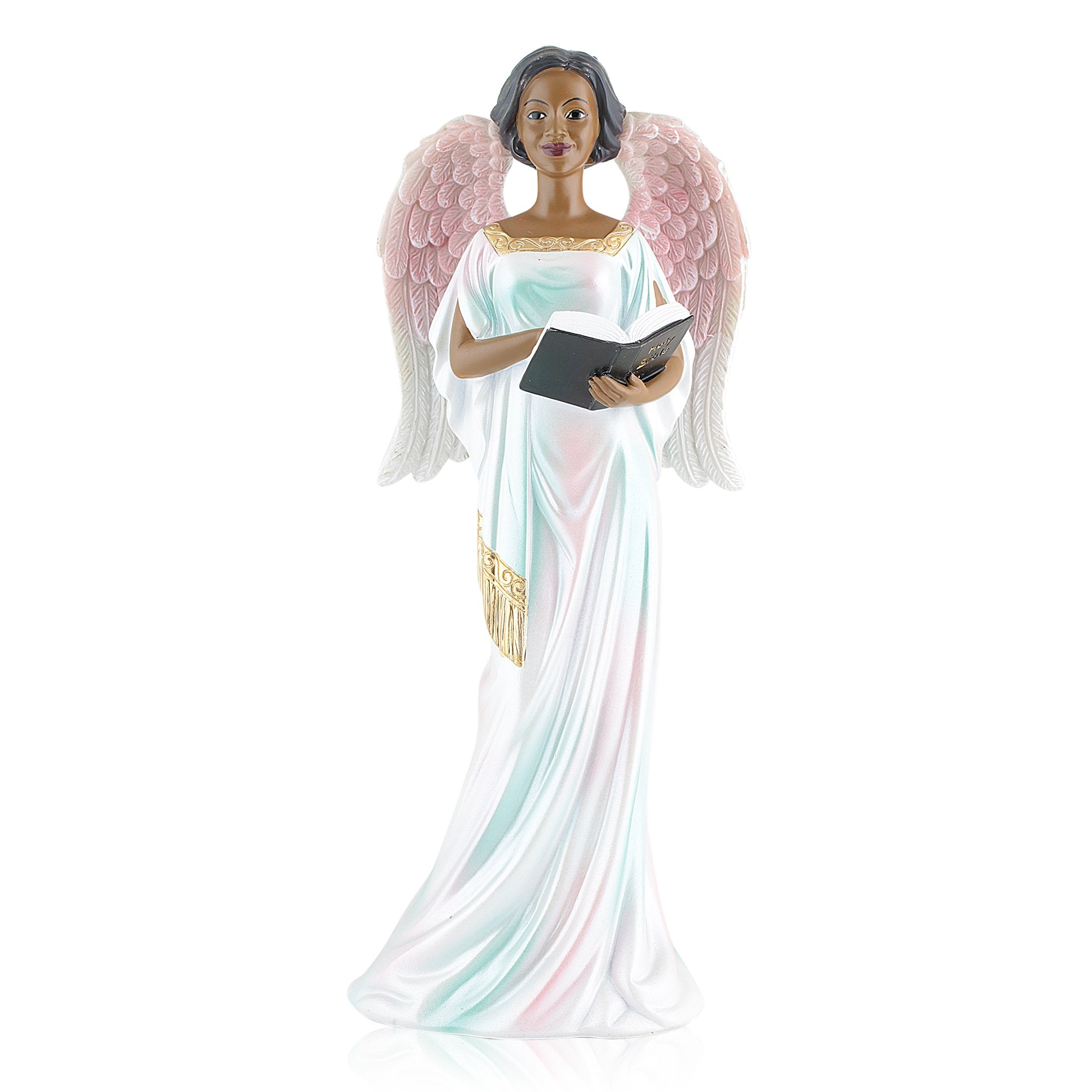 Devotion: African American Angel Figurine by Positive Image Gifts