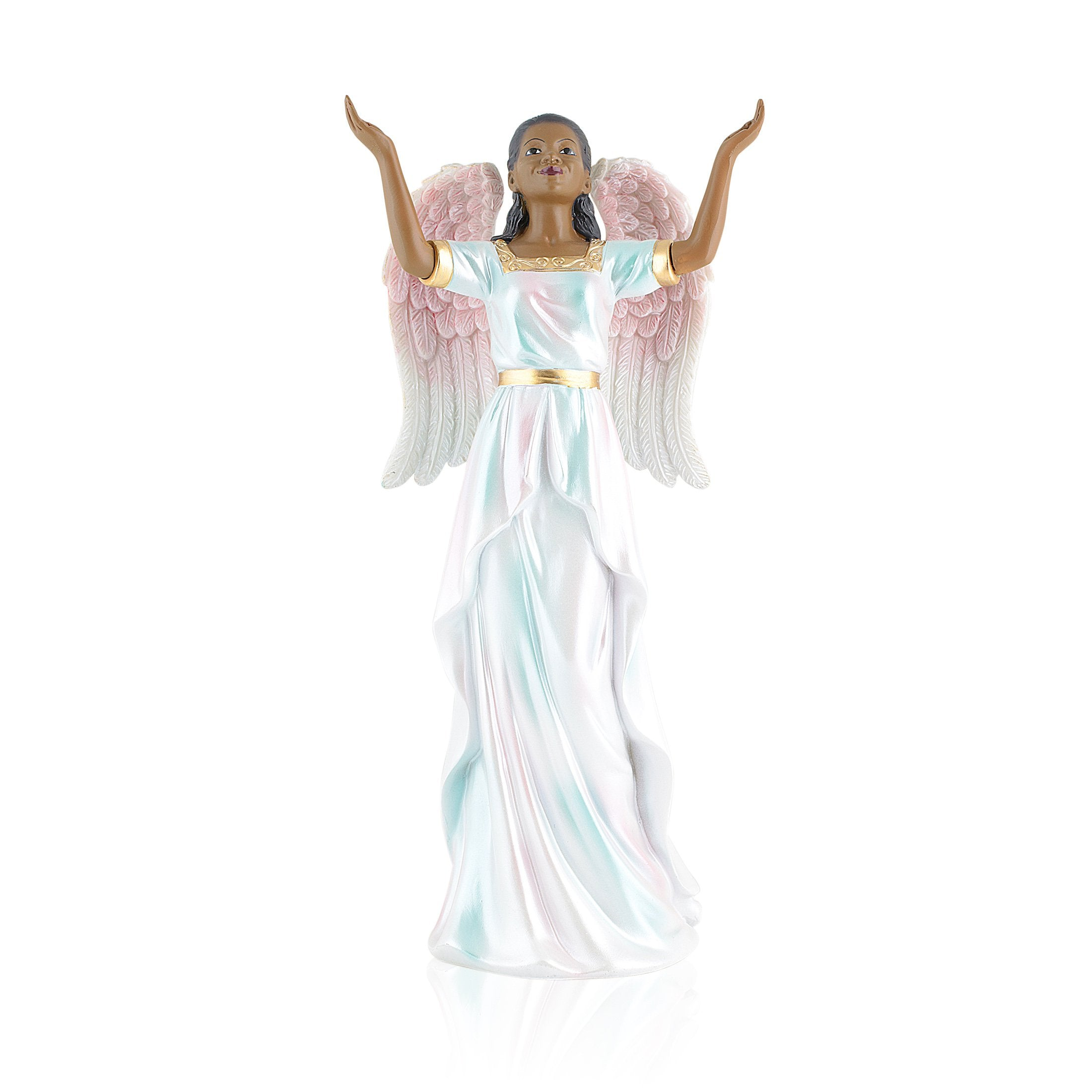 Praise: African American Angel Figurine by Positive Image Gifts