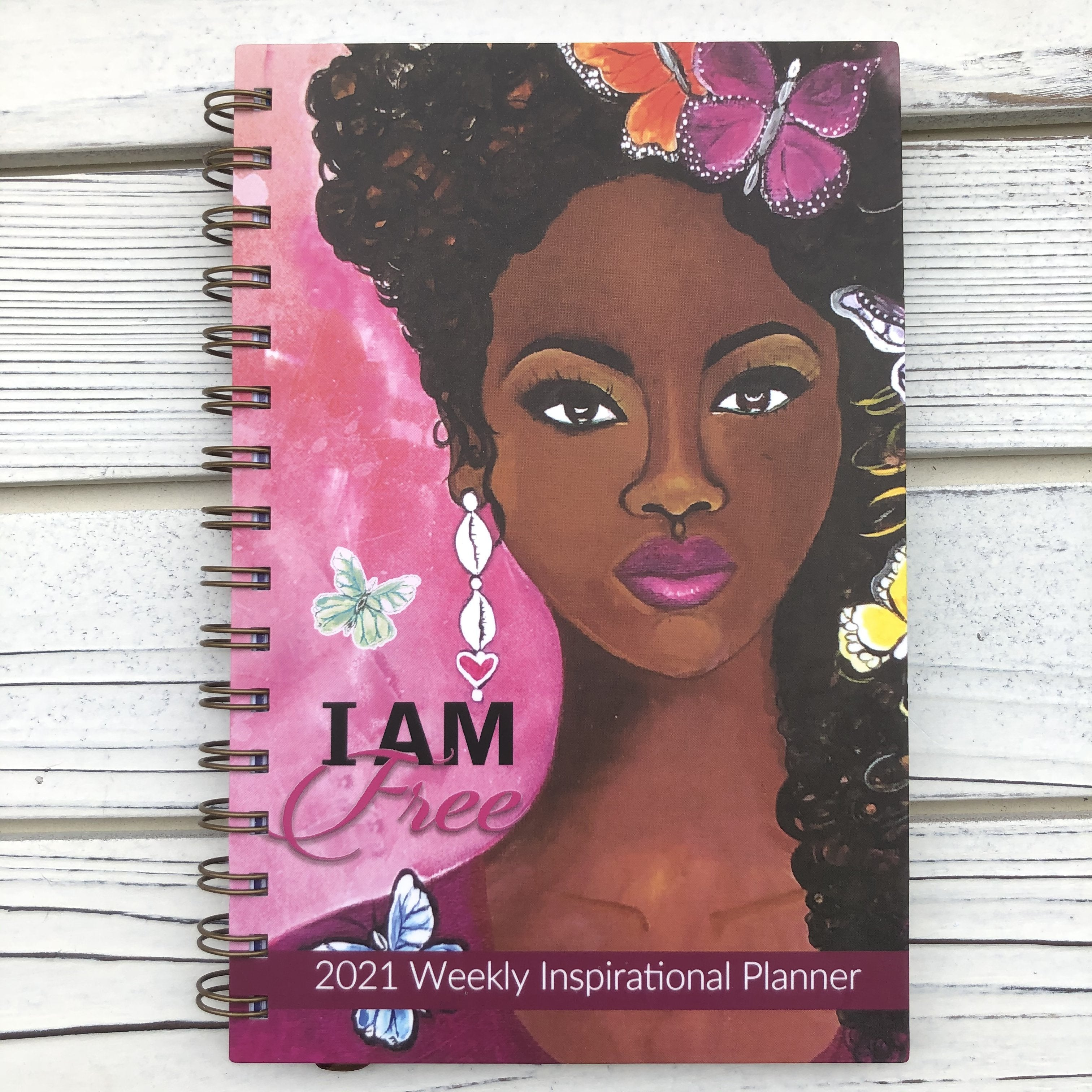 I Am Free: 2021 African American Weekly Planner by GBaby