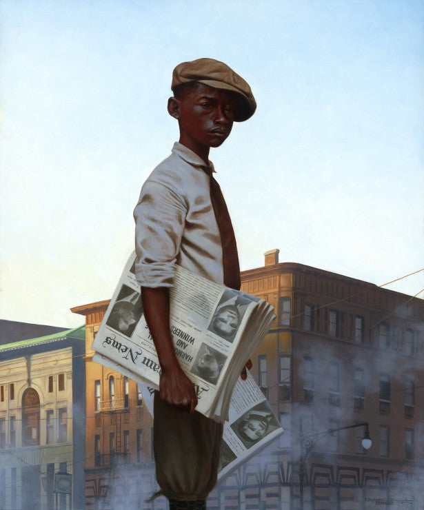 The Morning Post by Kadir Nelson