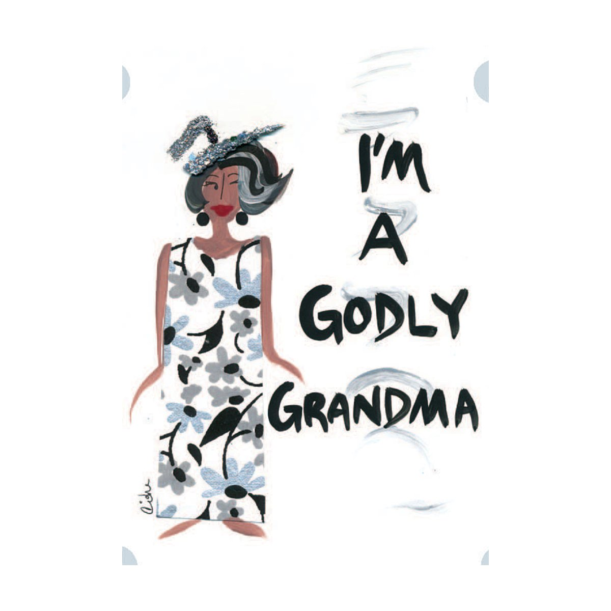 I'm a Godly Grandma: Cidne Wallace Magnet by Shades of Color