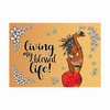 Living My Blessed Life: African American Magnet by Kiwi McDowell