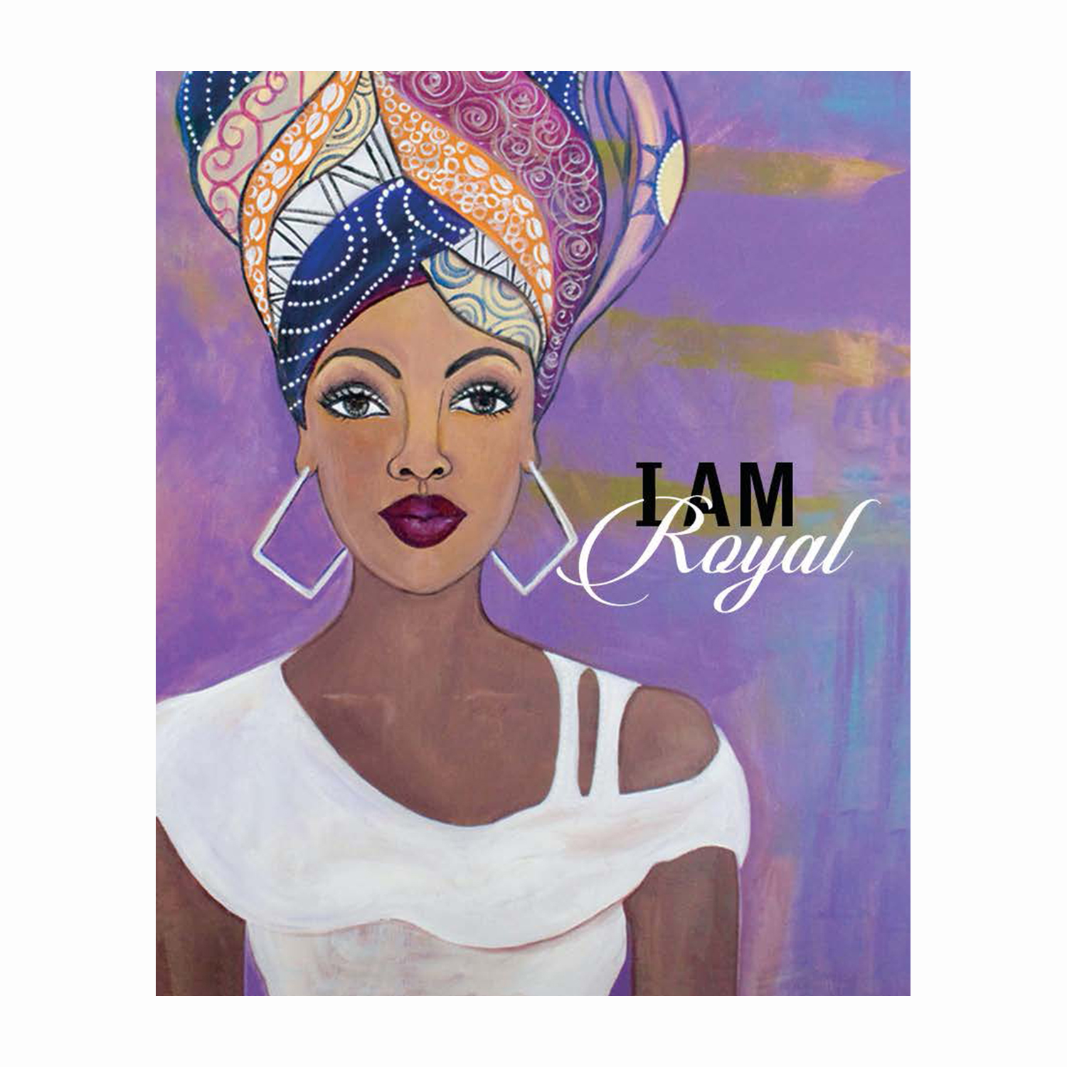 "I am Royal: African American Magnet by Sylvia ""Gbaby"" Cohen"