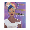I am Royal: African American Magnet by Sylvia