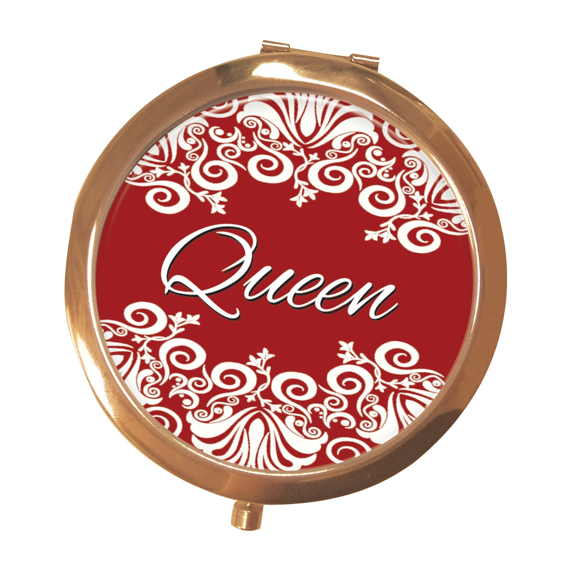 Queen (Delta Sigma Theta): African American Pocket Mirror by Shades of Color