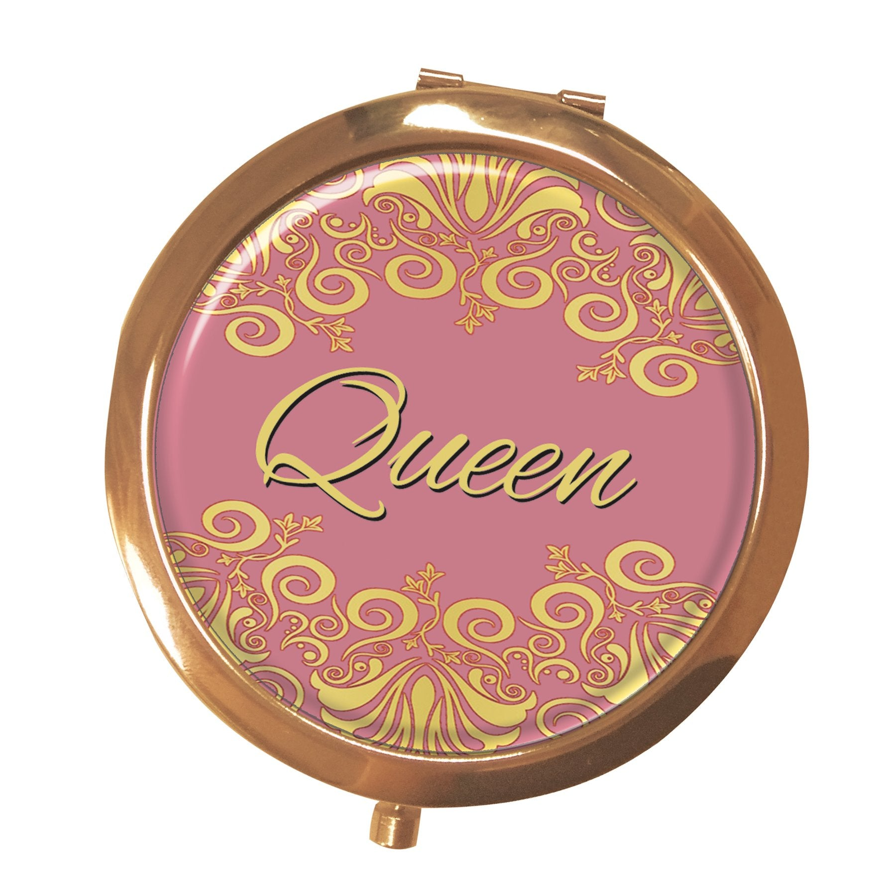 Queen (Alpha Kappa Alpha): African American Pocket Mirror by Shades of Color