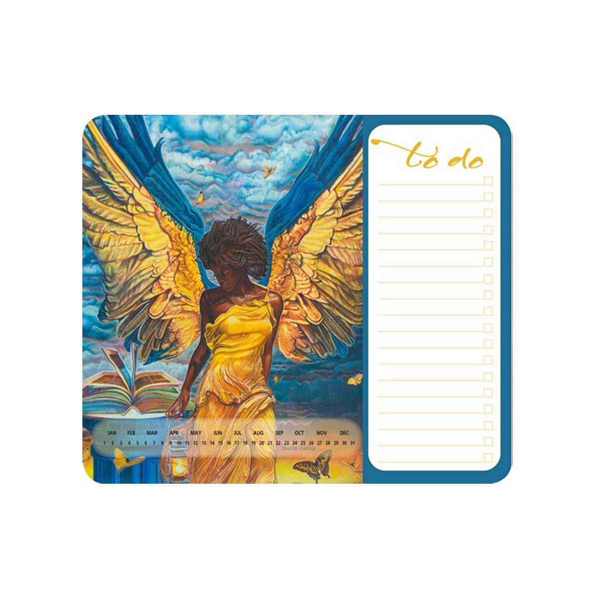 Angelic Guidance: Memo Mouse Pad by Buena Johnson