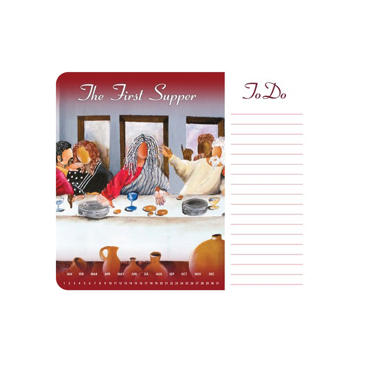 The First Supper: African American Memo Mouse Pad by Annie Lee
