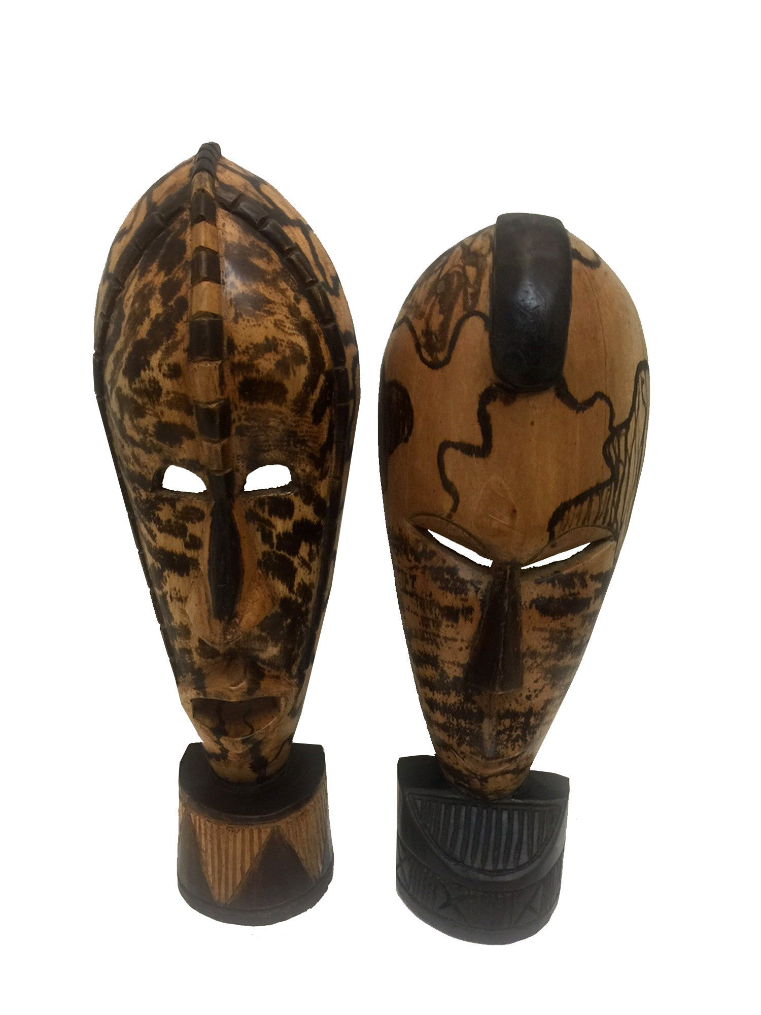 Hand Made Ghanian Joy of Friendship Masks by Kwesi Asante