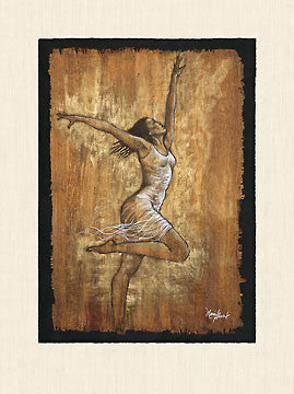 Dance of Joy II by Monica Stewart