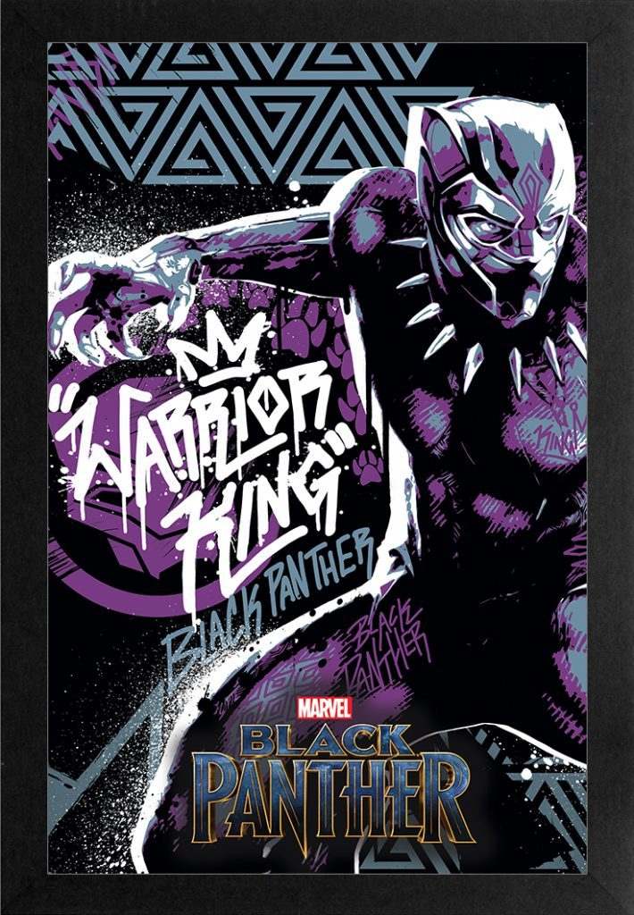 The Black Panther: Warrior King (Marvel Comics) by Pyramid America