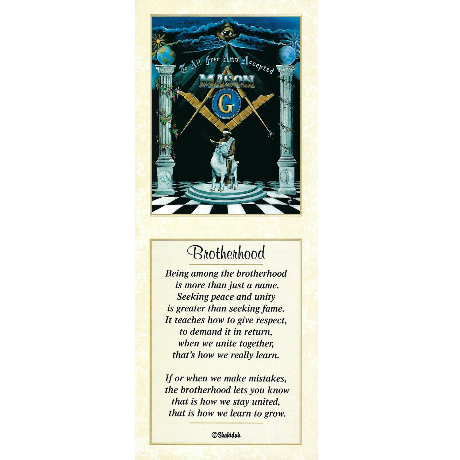 Brotherhood (Freemasonry) by Tracy Andrews and Shahidah