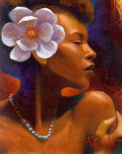 String Of Pearls by Keith Mallett