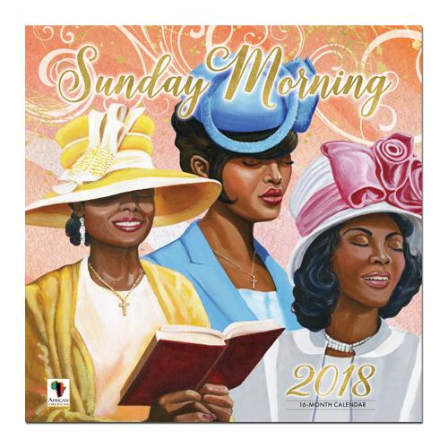 Sunday Morning: 2018 African American Religious Calendar by AAE (Front)