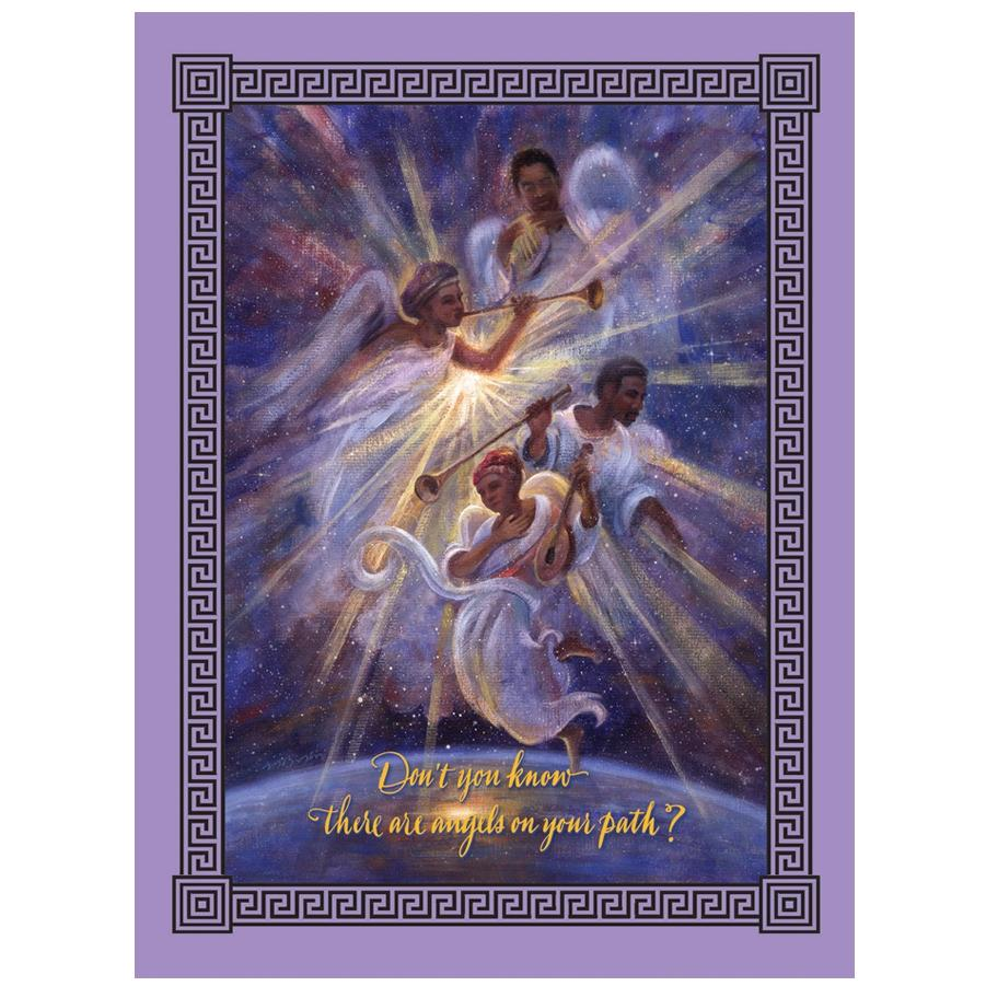 Angels On Your Path by Michael Bingham: African American Christmas Card Box Set