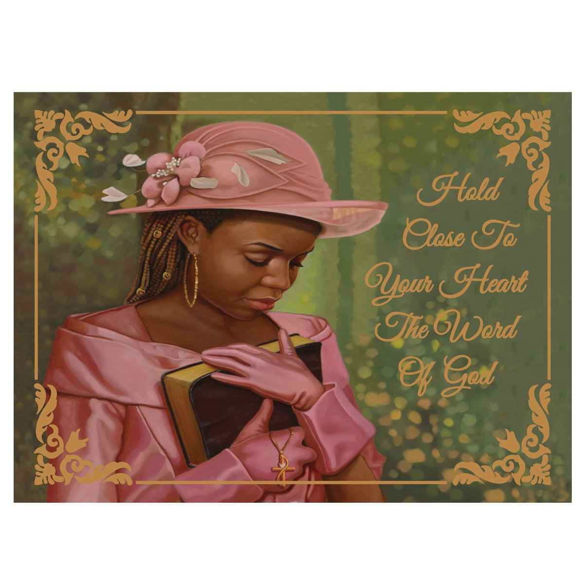 Close to Your Heart by Henry Lee Battle: African American Christmas Card Box Set