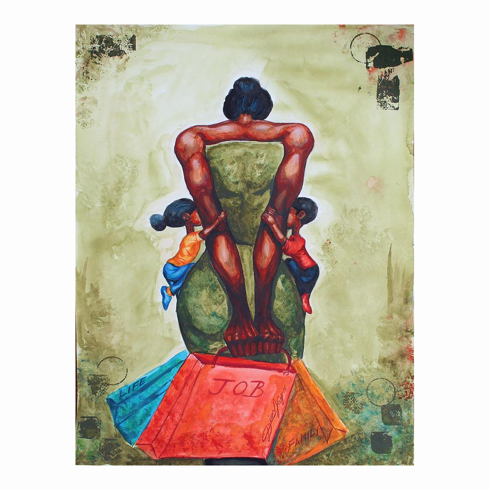 A Mother's Strength (A Tribute to Black Motherhood) by Dion Pollard