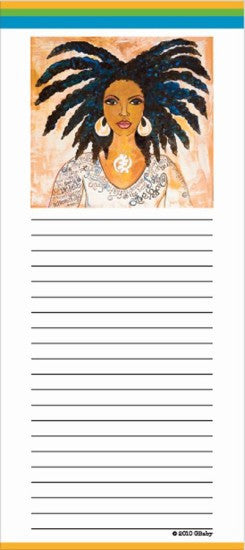 Nubian Queen Magnetic Notepad