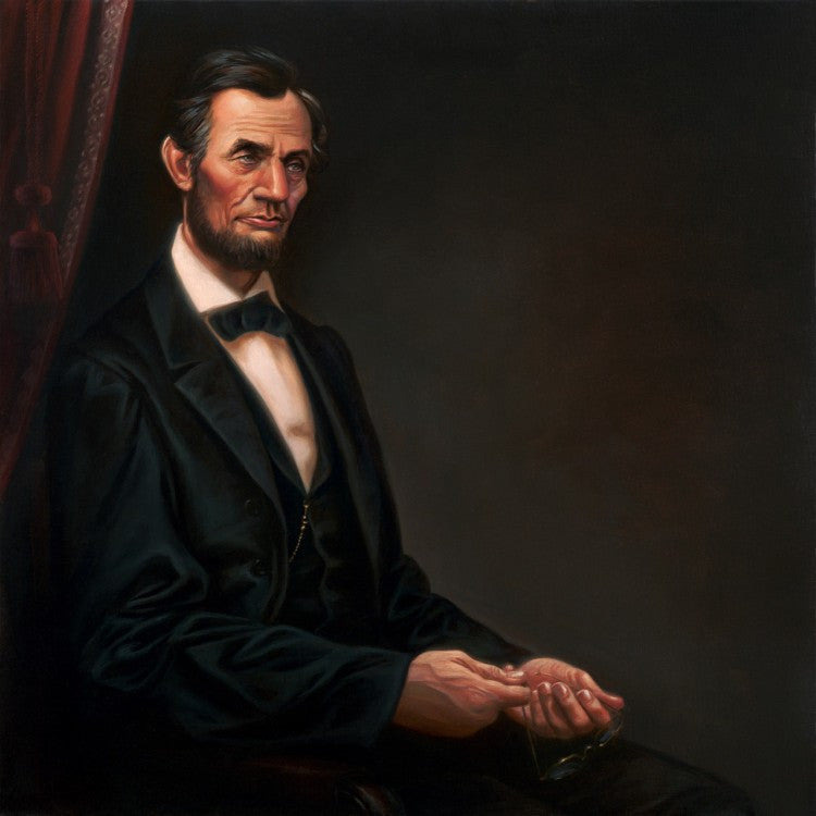 Abraham Lincoln by Kadir Nelson