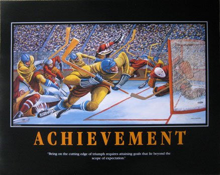 Achievement (Hockey) by Ernie Barnes