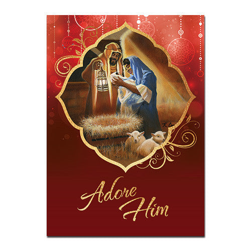 Adore Him: African American Christmas Card Box Set