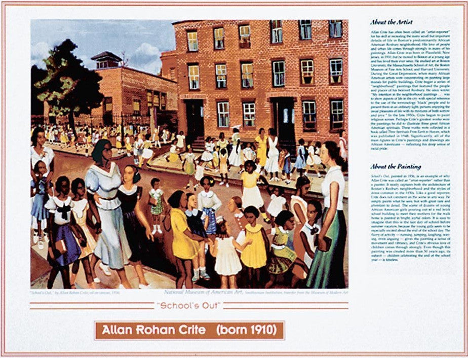African American Artists: Allan Rohan Crite by Knowledge Unlimited