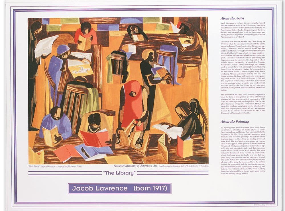 African American Artists: Jacob Lawrence by Knowledge Unlimited
