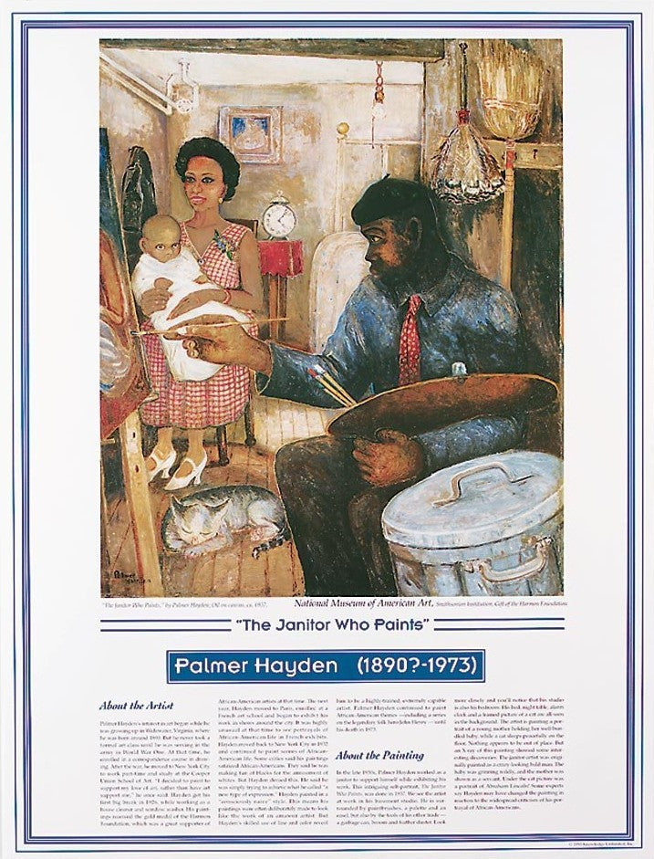 African American Artists: Palmer Hayden by Knowledge Unlimited