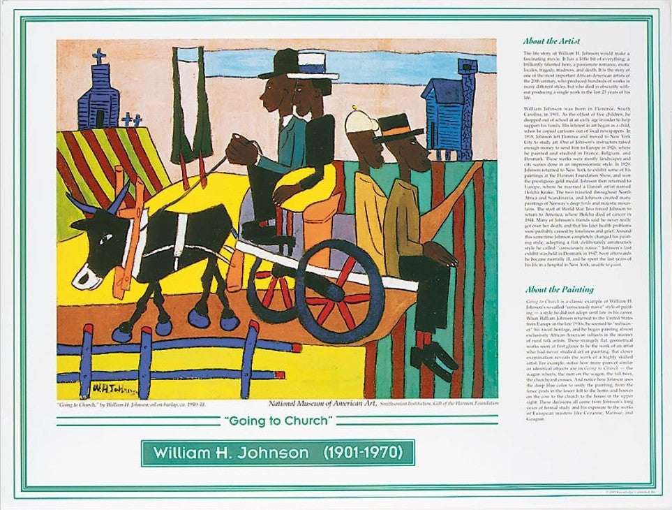 African American Artists: William H. Johnson by Knowledge Unlimited