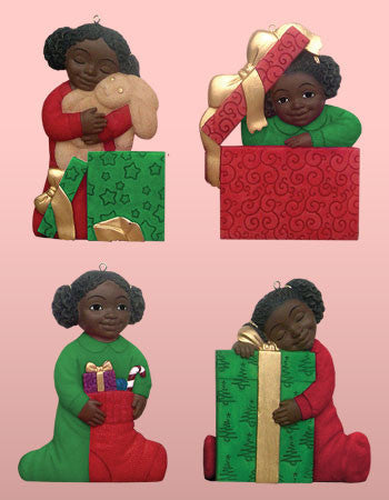 African American Christmas Kids Ornaments by Positive Image Gifts