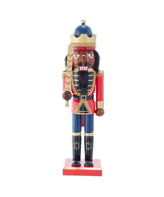 King Nutcracker II (The Protector): African American Nutcracker Figurine