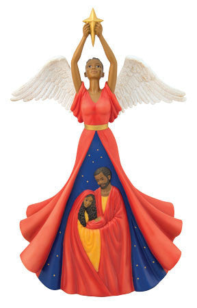 African American Nativity Angel by Ebony Treasures