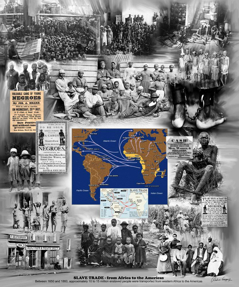 African Slave Trade by Wishum Gregory