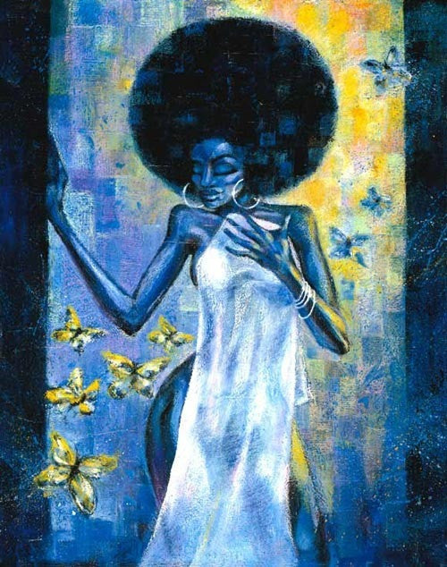 Afro Blue by Jason O'Brien