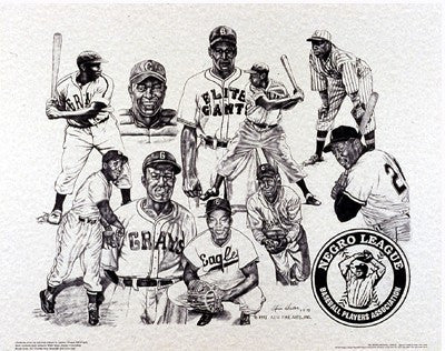 Negro League Superstars by Alvin Hester