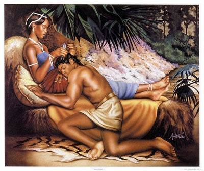 Samson And Delilah by Alan Hicks